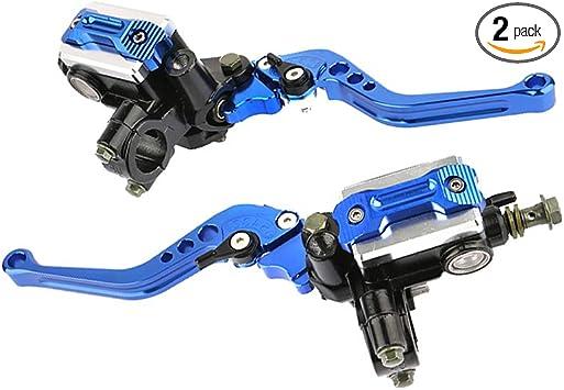 "Universal Alloy Left Handle Clutch Perch Lever F 7//8/"" Bar Motorcycle Dirt Bike"