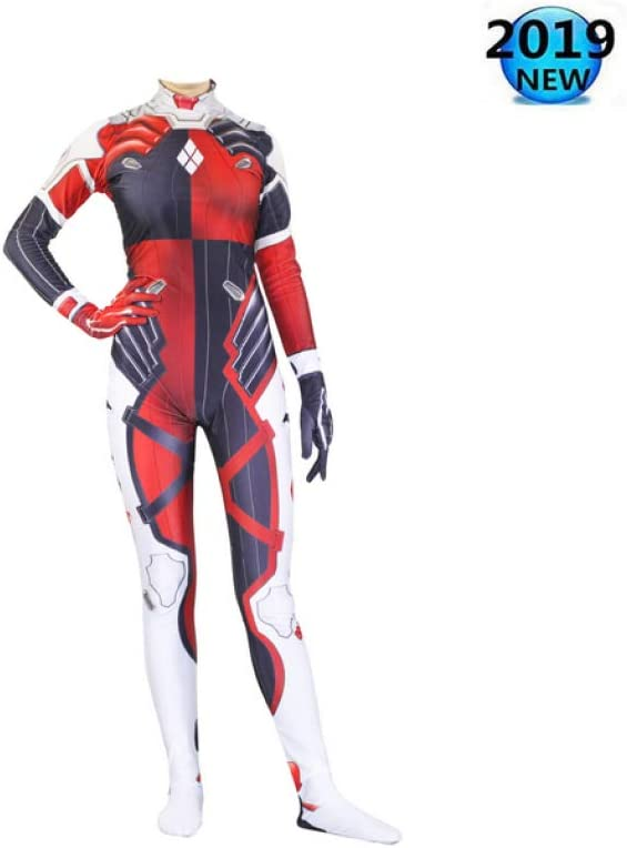 Clásico Harley Quinn Cosplay Cosplay Set Watch Pioneer Body Tights ...