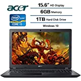 Acer laptop 15.6 Intel Core i5-7200U 2.5 GHz; 1 TB Hard drive; 6 GB DDR4 SDRAM Memory, Intel HD Graphics 620, Win10