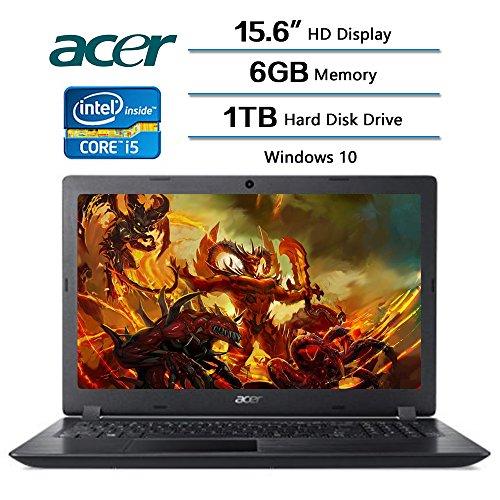2018 Newest Flagship Acer Aspire 3 Laptop 15.6″ HD Display, Intel Core i5-7200U 2.5 GHz,1 TB Hard Disk Drive, 6 GB DDR4 SDRAM Memory, Intel HD Graphics 620, Windows 10