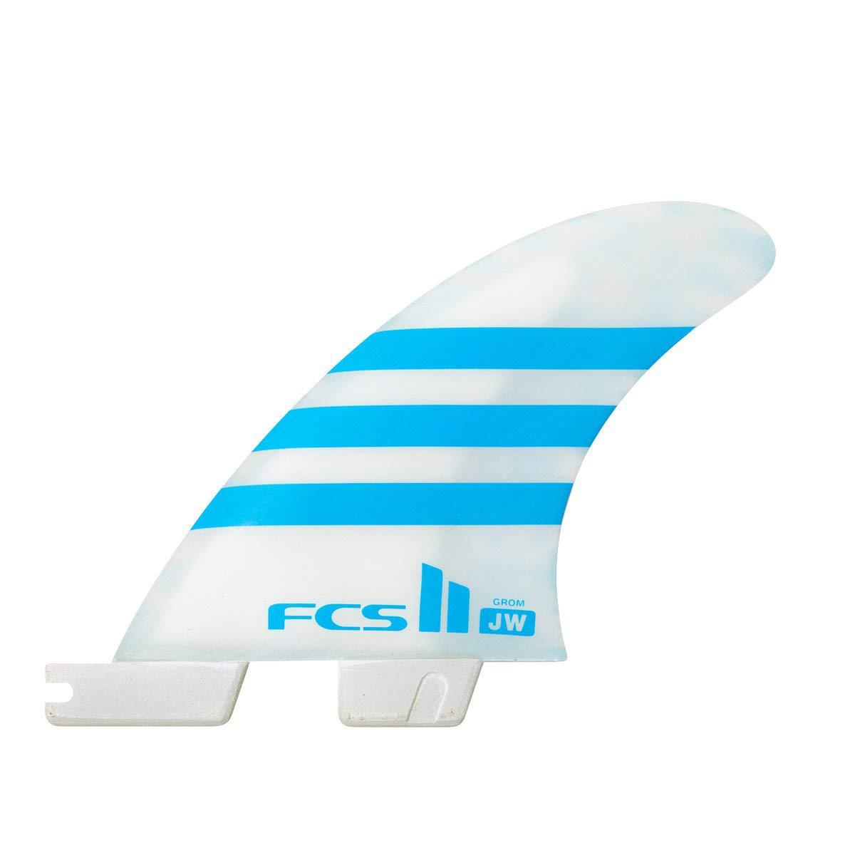 FCS II ジュリアン ウィルソン PC エアコア スラスター フィンセット ブルー グロム