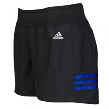 Adidas Damen Essentials 3 Stripes Knit Short, Schwarz ...