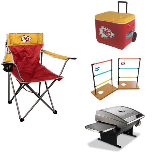 Kansas City Chiefs Small Tailgate Package by Jarden Sports Licensing