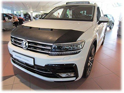 HOOD BRA Front End Nose Mask for Volkswagen VW Tiguan since 2016 Bonnet Bra STONEGUARD PROTECTOR TUNING