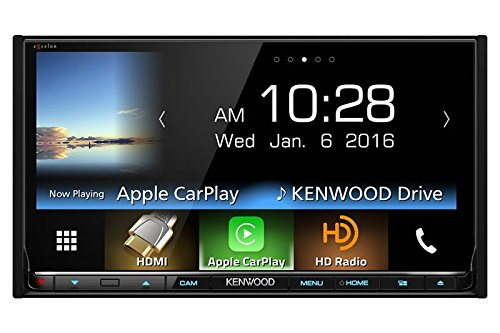 Kenwood DDX9903S AV Receiver Apple CarPlay, Android Auto (Certified...