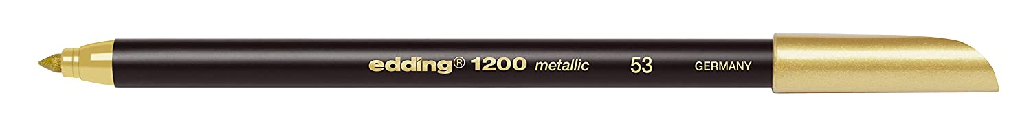 Edding 1200 metallic Stift gold 151950