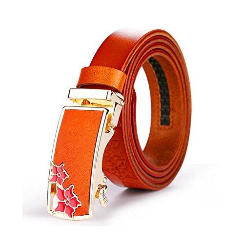 Selvatici Marea l Pelle Cava Di Donna Moda orange H Complesso Cintura Modelli Femminili In xzdPwY1I