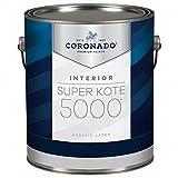 Super Kote 5000 Interior Acrylic Satin Enamel by Benjamin Moore (Gallon, White)