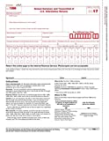Laser Printed 1096 Transmittal/Summary Tax Form (2018) for Accountants & Small Businesses - 50 Pack, Quickbooks Compatible 1096 Tax Form, Measures 8-1/2'' X 11'' - ABC Printing