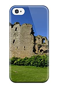 Rosemary M. Carollo's Shop Flexible Tpu Back Case Cover For Iphone 4/4s - Bolton Castle