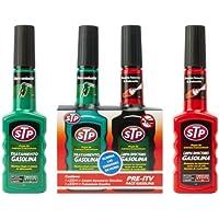 STP ZSTP03 Pre-ITV con Limpia inyectores Coches Gasolina, Verde, 7 litros