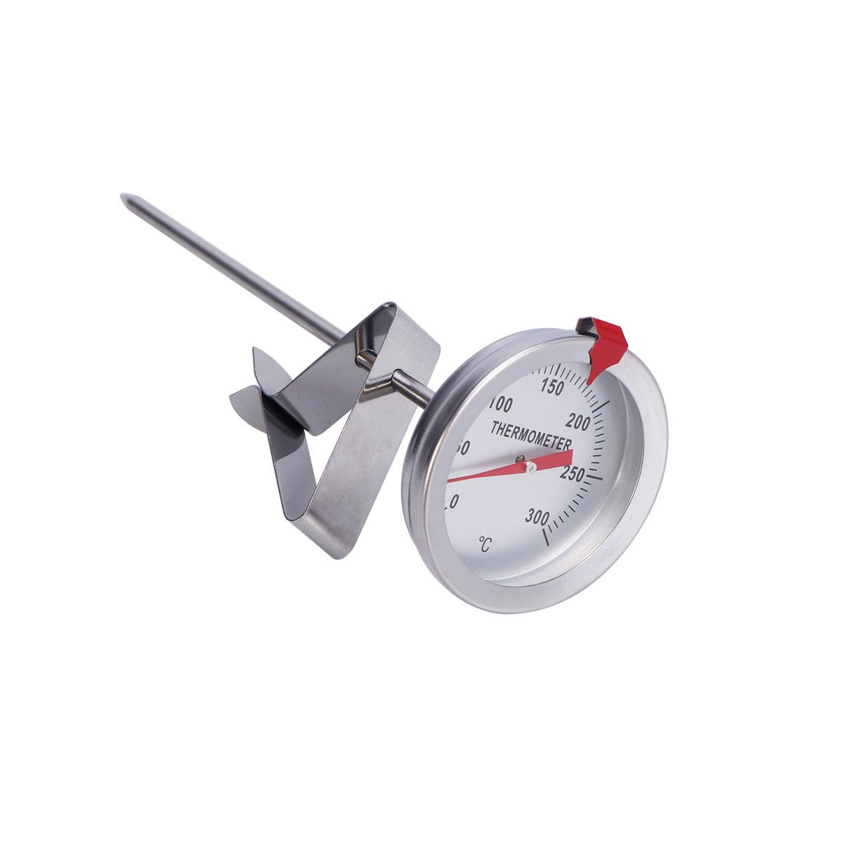 OUNONA Candy and Deep Fry Thermometer for Cooking 150mm Probe Length