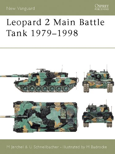 Leopard 2 Main Battle Tank 1979-98 (New Vanguard Book 24)