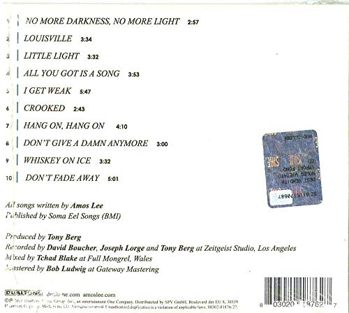 Buy amos lee my new moon cd