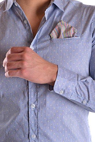Daniele Alessandrini Camicia Uomo MCBI086501O Cotone Azzurro