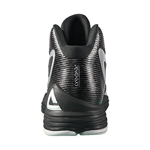 Peak Männer Galaxy Basketball Schuhe Silber schwarz