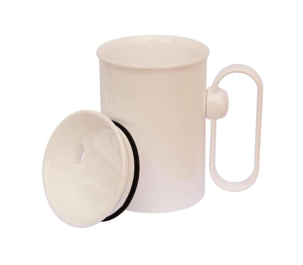 NRS Hand Steady Mug with Easy Drinking Cup Aid by NRS Healthcare by NRS Healthcare by NRS Healthcare
