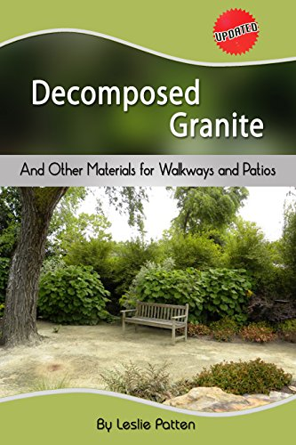 Cheap  Decomposed Granite and Other Materials for Walkways and Patios