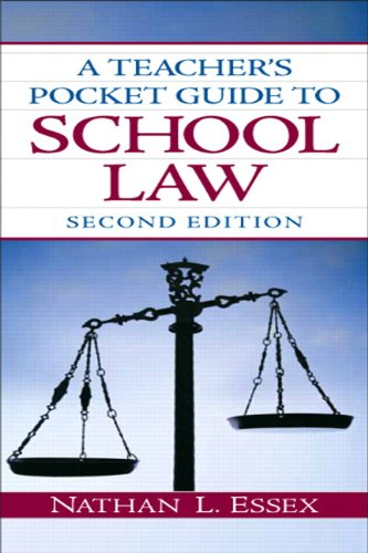 A Teacher's Pocket Guide to School Law (2nd Edition)