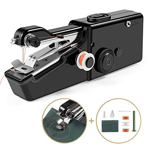 - Handheld Sewing Machine, Cordless Handheld Electric Sewing Machine Quick Handy Stitch for Home or Travel use