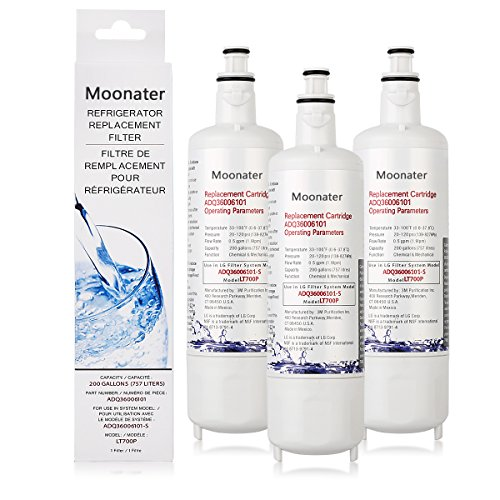 Refrigerator Fridge Water Filter fresh water cleaners 700p (3) by waterag cleaners