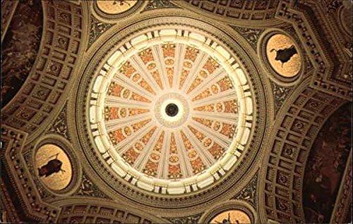 State Capitol - Interior of Dome Harrisburg, Pennsylvania Original Vintage Postcard
