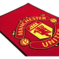 Manchester United FC Color Crest Printed Rug