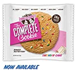 Lenny & Larry's The Complete Cookie, Birthday Cake, 4-Ounce Cookies (Pack of 12)