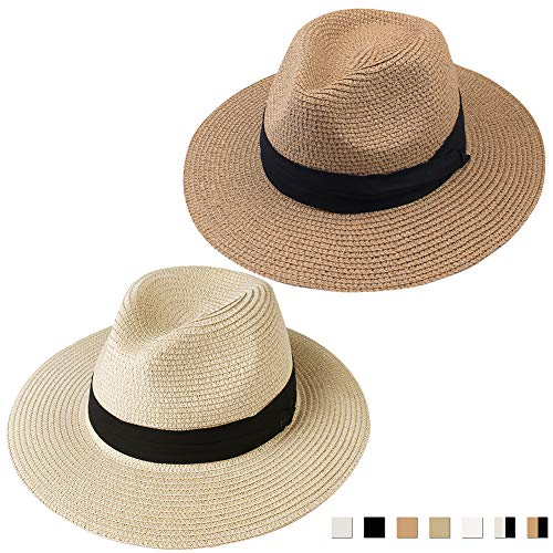 FURTALK Panama Hat Sun Hats for ...