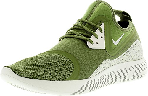 Nike Men Lunarcharge Essential, BLACk/DARK OBSIDIAN-VOLT Palm Green Bone Volt 307