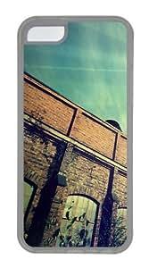 iPhone 5C Case, iPhone 5C Cases - Sunday City TPU Silicone Case Cover for iPhone 5C - Transparent