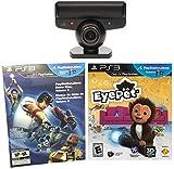 little big planet karting ps3 - Sony PlayStation 3 Eye Camera + EyePet Game + PS3 Sampler (15 Games) (Bulk Packaging) BUNDLE