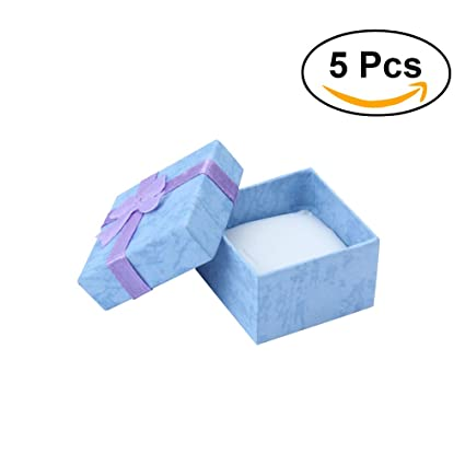 NUOLUX Cajas para Joyas Cajas de Carton para Joyeria Cajas ...