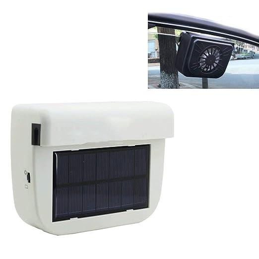 Ventilador Solar Para Coche,Ventilador De Ventilación De Coche Con ...