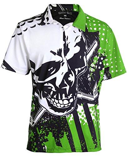 TattooGolf Blade Men's Golf Shirt (XL) Green
