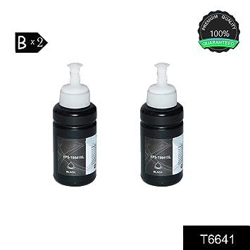 WonderTec 2PAK T6641 Black Compatible para impresoras Epson ...