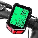 IREGRO Bike Speedometer, Waterproof Bicycle Computer Multi-Functions Wireless Bike Odometer with Large LCD Display