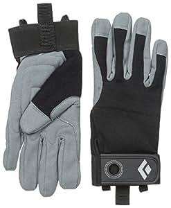 Black Diamond Crag Climbing Gloves, Black, X-Small