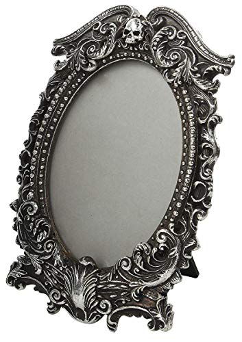 Alchemy of England Masque Of The Black Rose Picture Frame Silver ()