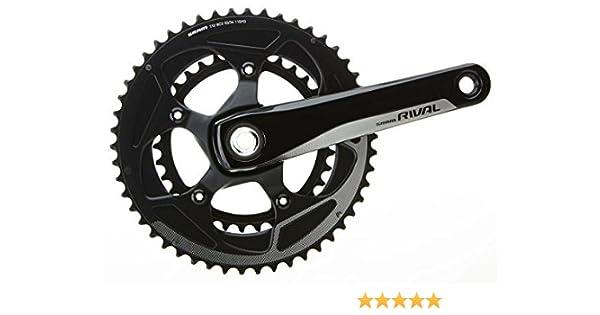 ALL NEW SRAM Rival 22 Yaw GXP Road Bike Crankset 172.5mm 50//34T 11 Speed w//o BB