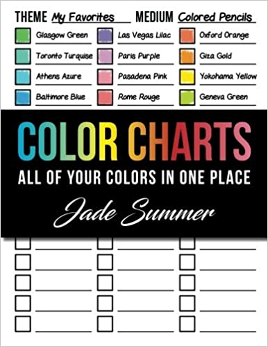 Color Charts 50 Coloring Charts To Organize Your Color Schemes