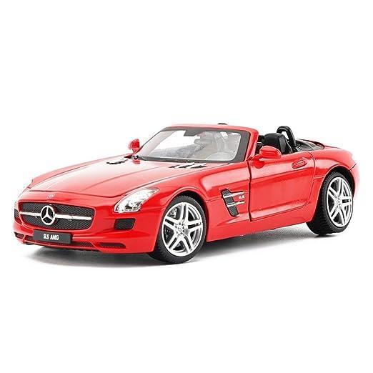 Wsjdmm Modelo de Coche de Regalo de cumpleaños 1:24 Mercedes ...