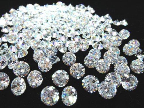 3mm AAAAA 큐빅 산화 지르코늄 루스 크리스탈 10 개 세트 / 3mm AAAAA Cubic Zirconia Loose Crystal 10 pcs