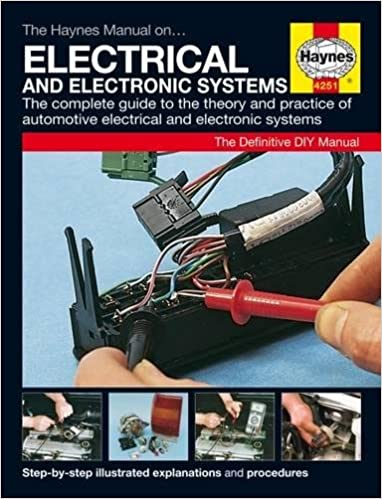 The Haynes Car Electrical Systems Manual Amazoncouk Haynes