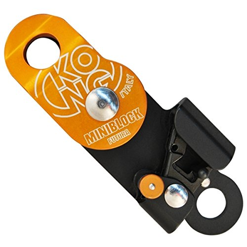 KONG USA Futura Mini Block Pulley Orange One Size by KONG USA