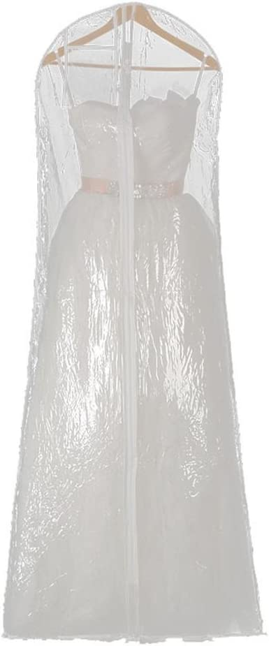 Funda de Tela A:160 * 58 * 80cm a Househome Fundas de Ropa Tejido Larga de almacenaje para Vestido de Novia Vestido al Polvo de Novia Ropa Bolsa de Ropa Protector Funda