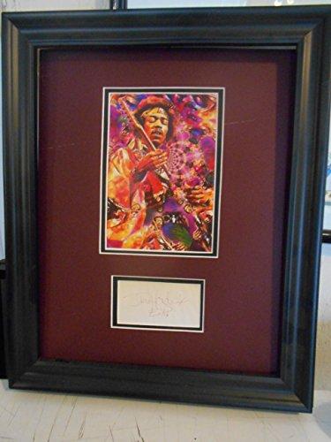 Jimi Hendrix cut signature