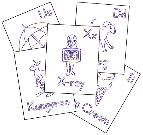Raised Line Alphabet Coloring Sheets product image