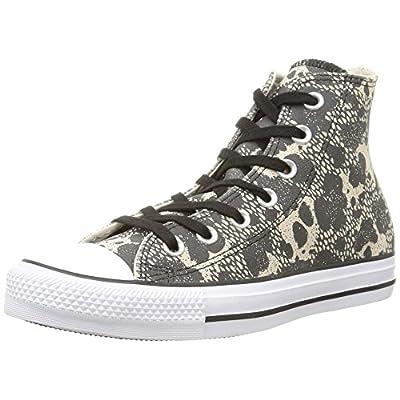 Converse CT Hi Parchment/Black/Wht Womens Fashion-Sneakers 549632C
