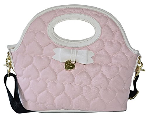 Betsey Johnson Top Handle Dome Lunch Tote Handbag Bag Purse (Baghdad Box Cutter compare prices)